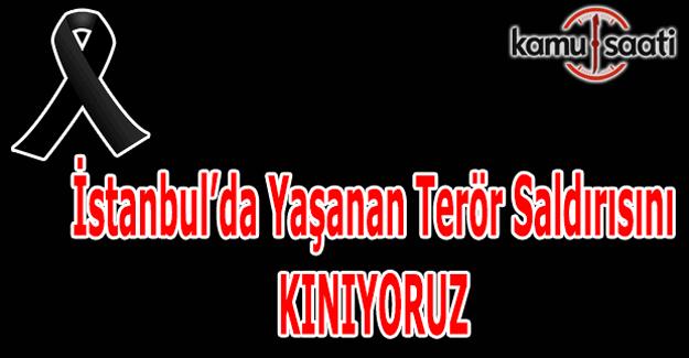 Kamu Saati olarak hain terör saldırısını kınıyoruz