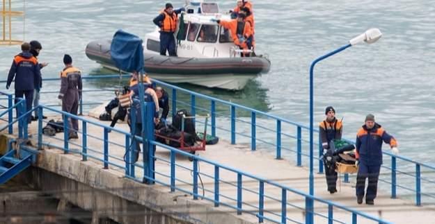 Karadeniz'de düşen Rus uçağının karakutusu bulundu