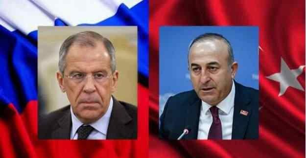 Lavrov ve Çavuşoğlu'nun o karesi dikkat çekti