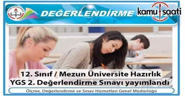 MEB'den üniversite sınavlarına hazırlık için 2. deneme sınavı