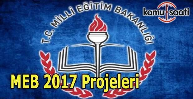 MEB 2017 iş takvimi açıklandı - Genel müdürlükler hangi projeleri yapacak?