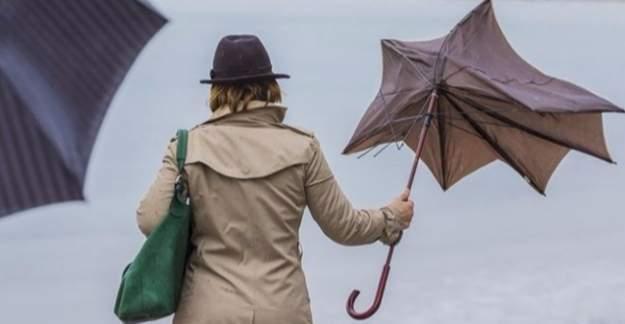 Meteoroloji'den 4 ile uyarı: Kuvvetli fırtına çıkabilir