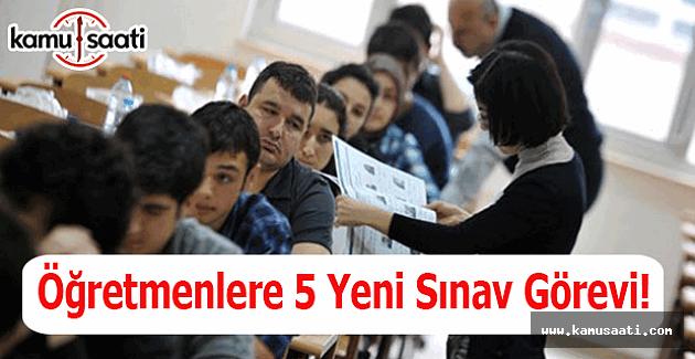 Öğretmenlere 5 yeni sınav görevi - MEBBİS sınav görevi - Sınav görevi başvurusu