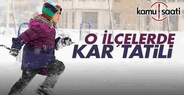 Tunceli'de yarın için eğitime kar engeli