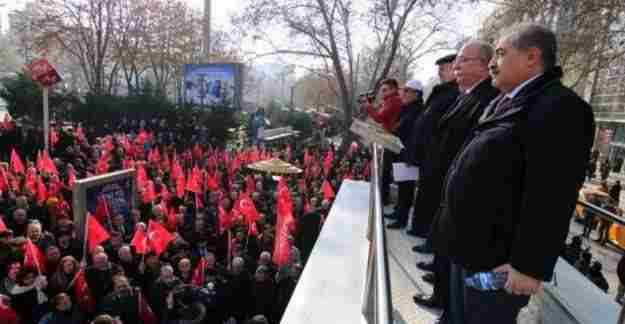 Türkiye Kamu-Sen'den 'Teröre Hayır' mitingi