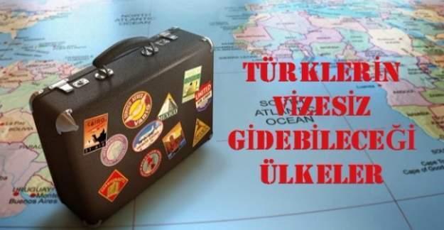 Türkler hangi ülkelere vizesiz gidebilir? İşte vizesiz gidilebilen ülkelerin listesi
