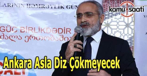 """Yalçın Topçu: """" PKK, DAEŞ ve FETÖ terörü ile Ankara asla diz çökmeyecek"""""""