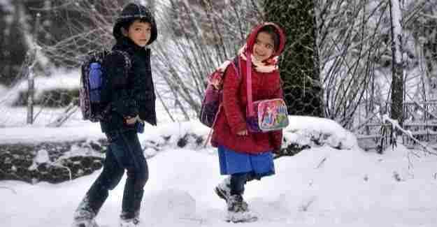 Yarın iki ilde eğitime kar tatili