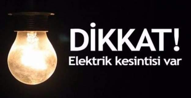 28 Ocak 2017 İstanbul'da elektrik kesintisi