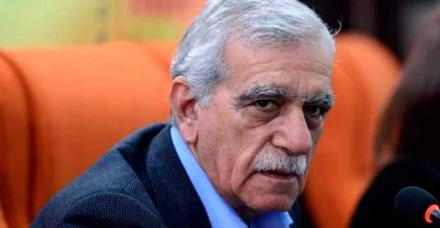 Adalet Bakanlığından 'Ahmet Türk' açıklaması
