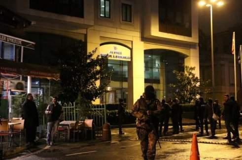 AK Parti binasına saldıran teröristin başına 300 bin
