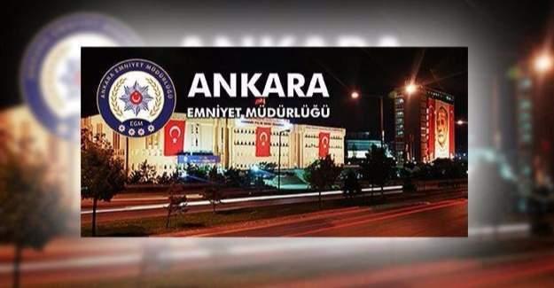 Ankara Emniyet Müdürlüğü'nde görev değişimleri yapıldı