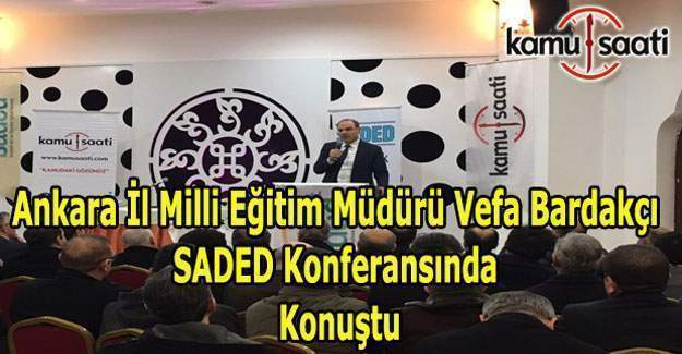 """Ankara İl Milli Eğitim Müdürü Vefa Bardakçı: """"Merkeze öğretmeni koyduk ve lider sen ol dedik"""""""