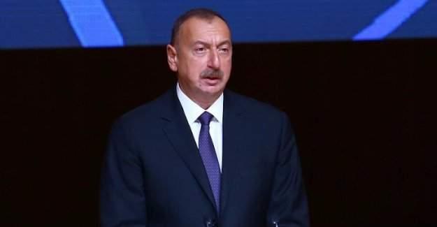 Azerbaycan Cumhurbaşkanı Aliyev'den taziye mesajı