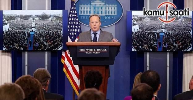 Beyaz Saray'ın yeni sözcüsü Spicer'den ABD basınına tepki