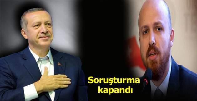 Bilal Erdoğan kara paradan aklandı
