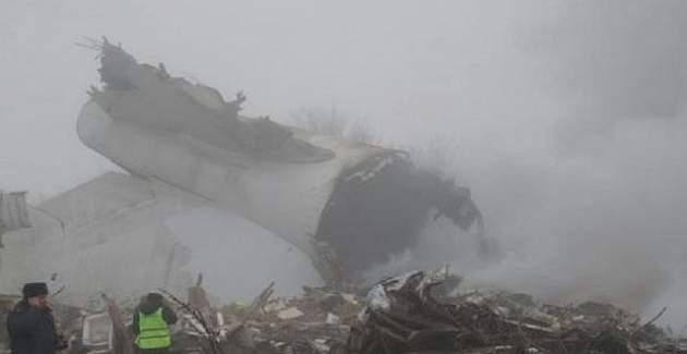 Bişkek yakınlarında Türk kargo uçağı düştü: 32 ölü