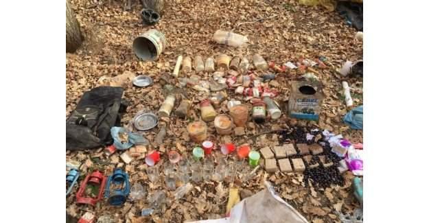 Bitlis'te terör örgütü sığınakları imha edildi