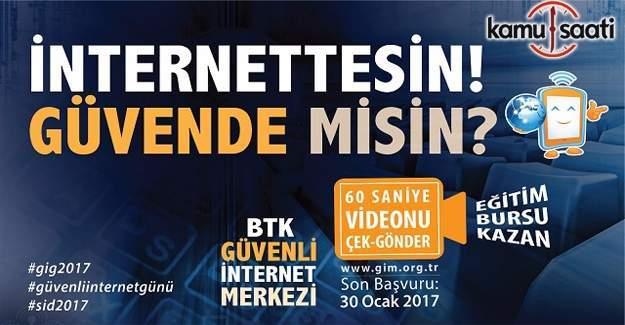 BTK'dan Çek-Gönder Video Yarışması