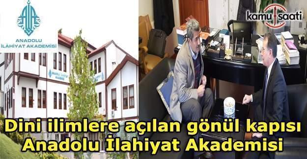 Dini ilimlere açılan gönül kapısı: Anadolu İlahiyat Akademisi