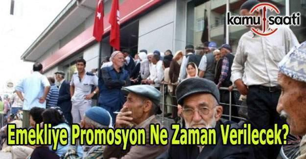 Emekliye promosyon ne zaman verilecek? Bakan Müezzinoğlu'dan açıklama