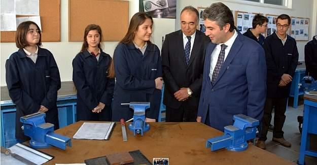 Ercan Demirci, ''Meslek okulları daha nitelikli hale gelecek.''