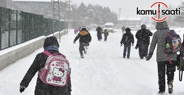 Erzurum, Erzincan ve Malatya'da yarın okullar tatil mi?