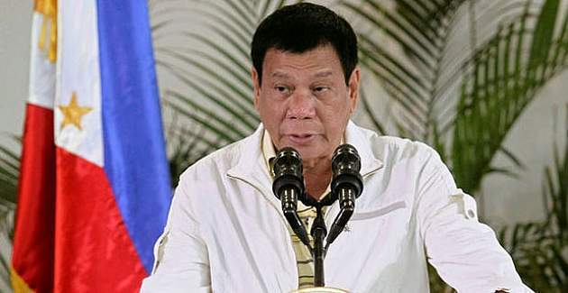 Filipinler Devlet Başkanı Rodrigo Duterte, ABD'yi uyardı