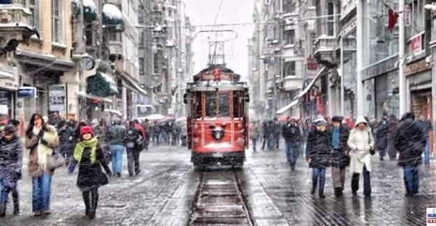 İstanbul'da metro ve metrobüse kar düzenlemesi