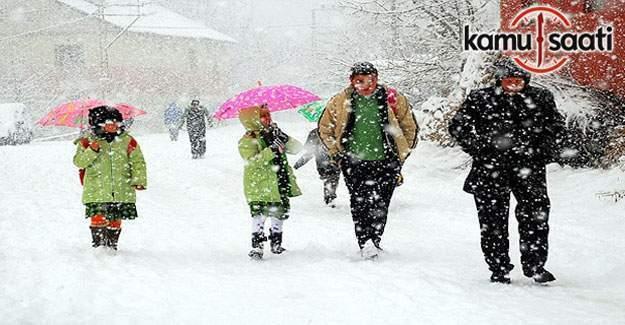 Konya ve Karaman'da okullar tatil mi? 12 Ocak 2017 Valilik açıklaması