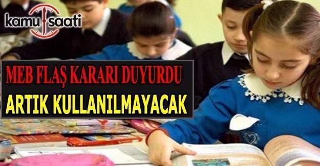 MEB'den okullara yeni talimat!