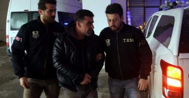 PKK üyesi kaçarken tutuklandı