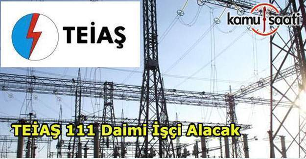 TEİAŞ 111 personel alımı ilanı yayınladı