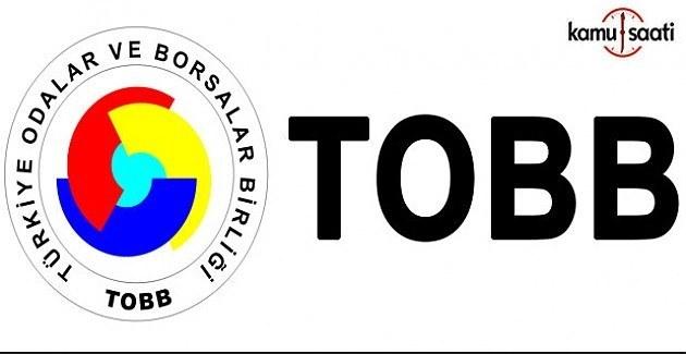 TOBB, Yıllık Aidatlar Hakkında Yönetmelikte Değişiklik
