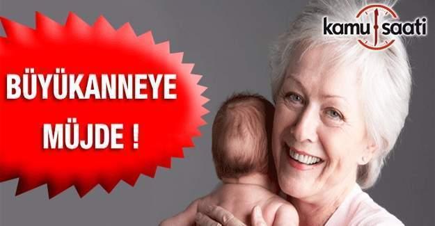 Torununa bakan büyükannelere müjde!