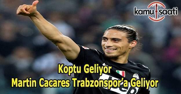 Trabzonspor Martin Cacares'i kadrosuna katıyor - Martin Cacares kimdir?