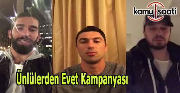 Ünlüler Güçlü Bir Türkiye için Evet diyor
