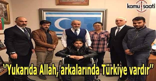 Yalçın Topçu: Yukarıda Allah, arkalarında Türkiye vardır