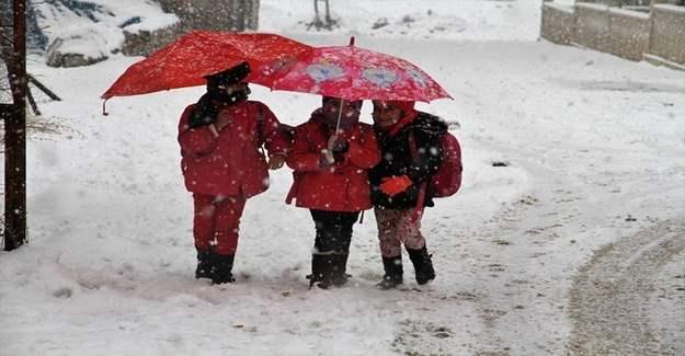Yarın okullar tatil mi? 9 Ocak 201 Kar tatili olan illerin listesi