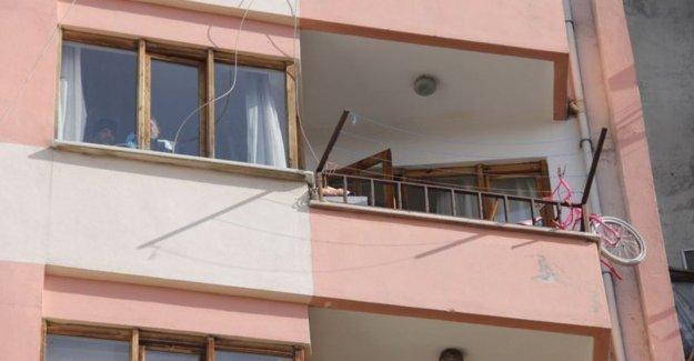 10 yaşındaki Umut balkondan düştü