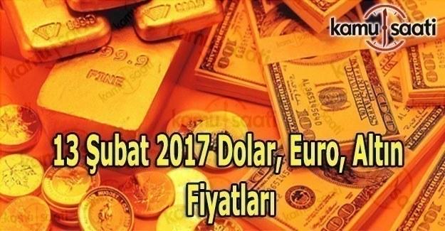 13 Şubat Dolar, Euro ve Gram Çeyrek altın fiyatları