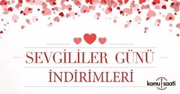 14 Şubat Sevgililer Günü'ne özel indirimler