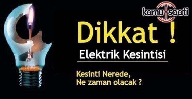 24 Şubat Cuma günü İstanbul'da elektrik kesintisi