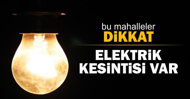 25 Şubat'ta İstanbul'un 8 ilçesinde elektrik kesintisi yaşanacak