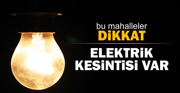 3 Şubat 2017 İstanbul'da elektrik kesintisi yaşanacak