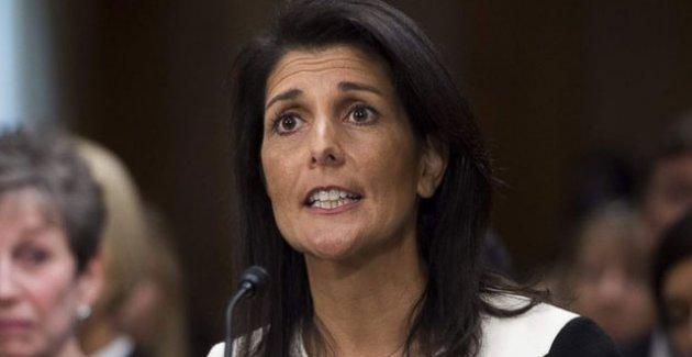 ABD'nin BM Daimi Temsilcisi Nikki Haley'den İran'a sert sözler