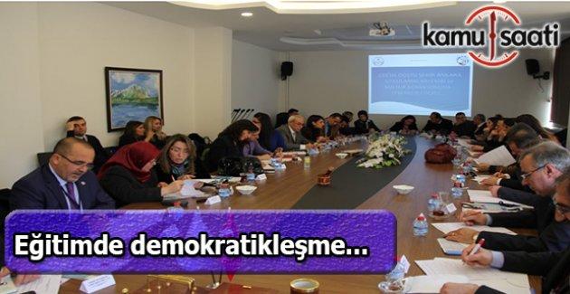 Ankara'da taslak öğretim programı çalıştayı düzenlendi