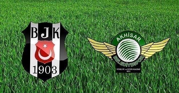 Beşiktaş - Akhisar Belediyespor maçının ilk 11'leri belli oldu