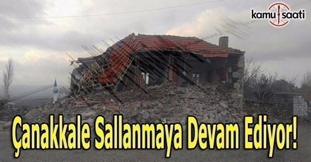 Çanakkale'de 5.3 büyüklüğünde bir deprem daha