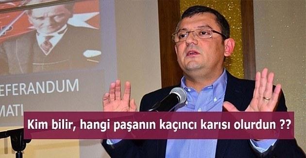 CHP'li Özel'den Abdülhamid'in torunu Osmanoğlu'na ahlaksız sözler